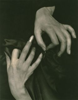 Hands With Thimble by Alfred Stieglitz in Speaking With Hands