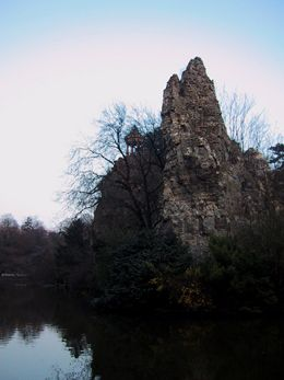 Deborah Garwood: Paris at Spring Equinox, 2004: Parc des Buttes Chaumont