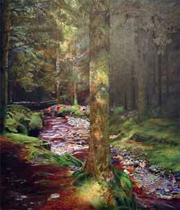 Gorten Glen Forest Park, Ireland in Marti Cormand: Paintings