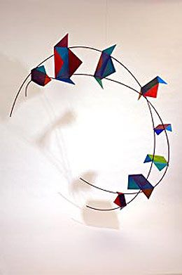 Fish in Rebecca Welz: Steel Kites
