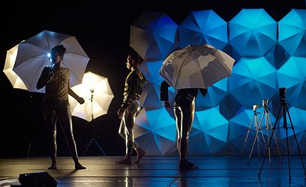 Banu Ogan, Rashaun Mitchell and Holly Farmer in Jonah Bokaer: The Invention of Minus One