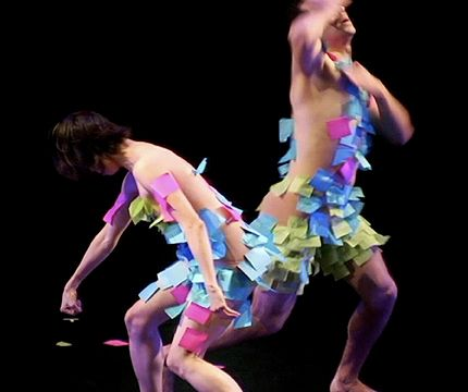 Ploy, with Eun Jung Choi-Gonzalez and Guillermo Ortega Tanus in Da-Da-Dance Project