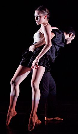 Hayley Jones and David Scarantino in Dance Gallery Festival