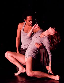 Christopher Ralph and Rachelle Raphailledes in Dance Gallery Festival