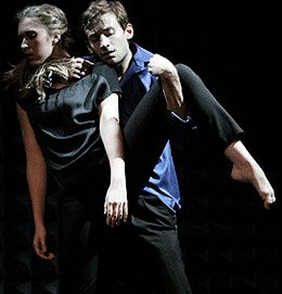 Chelsea Bonosky and Adam Barruch in DanceNow 2011