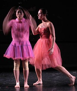 Akiko Furukawa and Courtney Drasner in Jenni Hong: Mach.com
