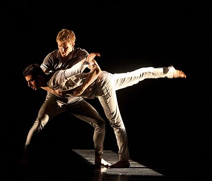 Bryan Strimpel and Evan Teitelbaum in Brian Brooks Moving Company 2012