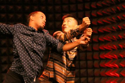 The Dash: Christopher Ralph and Daisuke Omiya in Dancenow 2012