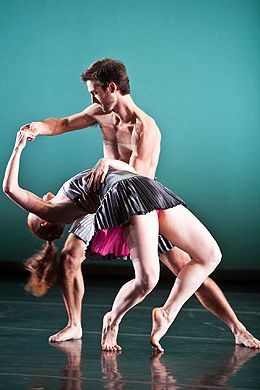 Aaron Carr and Emily Schoen in Trio in Keigwin+Company 2012