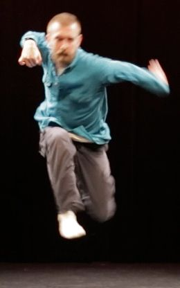 Adam Wile in newsteps 2014