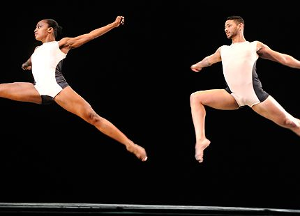 Davalois Fearon and Barrington Hinds in Stephen Petronio 2014