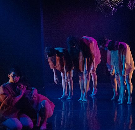 Mari Meade Dance Collective in <i>Thresholden</i> in Mari Meade and Teresa Fellion