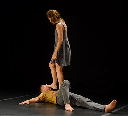 Bruno Isaković and Mia Zalukar in Perforations Festival