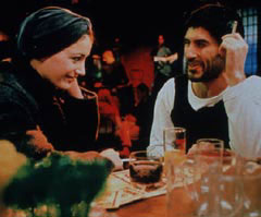 Meital Barda and Samy Hori as Malka and Yaakov in Kadosh in Kadosh