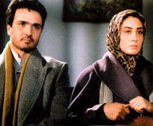 Mohammad Reza Foroutan and his wife