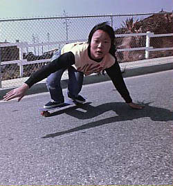 Skater Peggy Oki. in Dogtown and Z-Boys