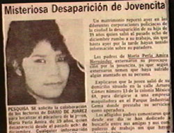 Se�orita Extraviada (Missing Young Woman)