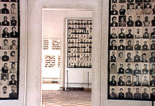 The prison is now a museum commemorating the thousands killed there by the communist regime. in S21: The Khmer Rouge Killing Machine
