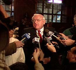 Governor George Ryan, troubled by the revelations of innocent people convicted and rampant errors committed in the criminal justice system, commuted all Illinois death sentences before leaving office. in Deadline