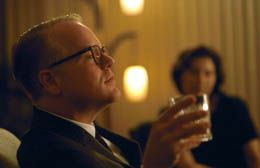 Philip Seymour Hoffman in Capote. in New York Film Festival