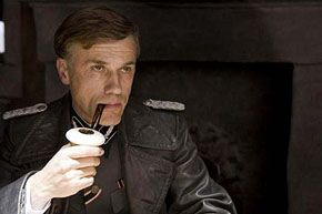 Christoph Waltz in Inglourious Basterds. in Inglourious Basterds