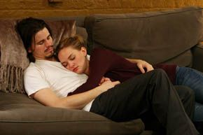 Jason Ritter and Jess Weixler in Peter and Vandy. in Jay DiPietro