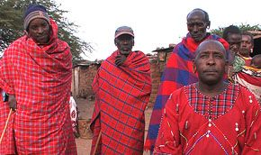 Maasai tribespeople in Kenya. in The End of Poverty?
