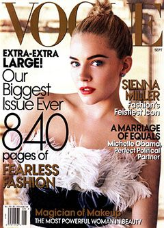 The cover of the September 2007 Vogue. in The September Issue