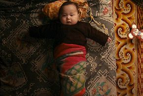 Bayar in Mongolia, from Babies. in Babies