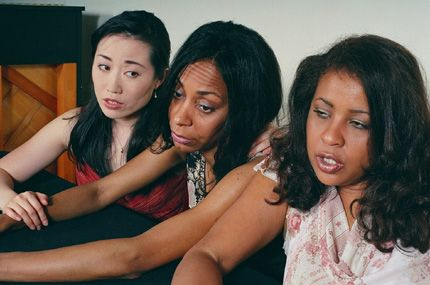 Elica Funatsu, Trish McCall, Thyais Walsh in Waitin' 2 End Hell. in Waitin' 2 End Hell