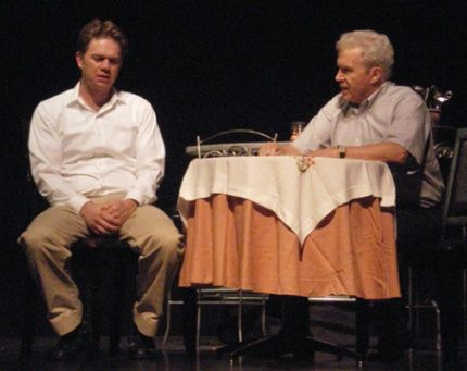 Matthew Huffman and Bill Fairbairn in Missa Solemnis, or The Play About Henry