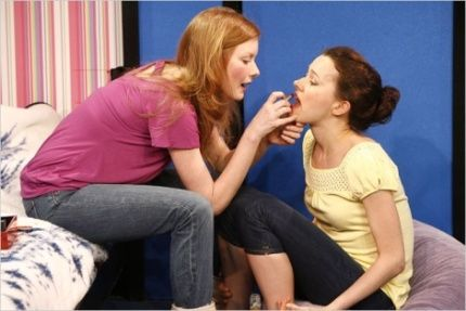 Wrenn Schmidt and Natalia Payne in Jailbait