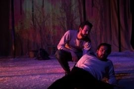 Nick Merritt and Kurt Uy in The Wendigo